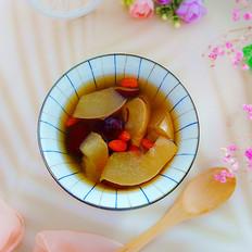 红枣炖雪梨,清肺下火又美容,夏天要常吃!的做法