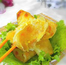 蛋黄油盐饼