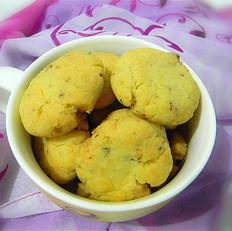 蛋黄核桃酥饼干