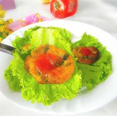 茄汁南瓜饼