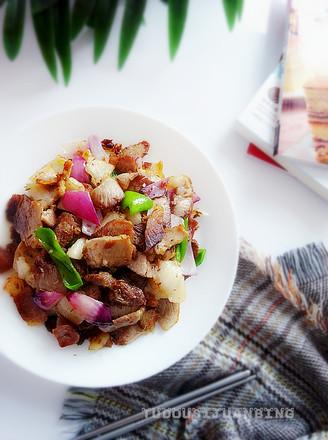 回锅肉片的做法