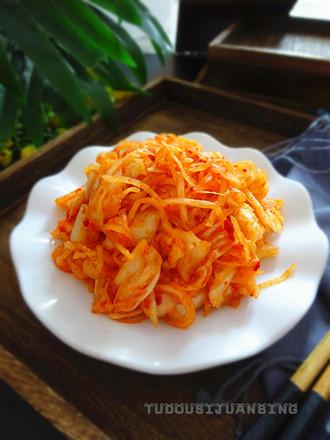 妙拌白菜萝卜的做法
