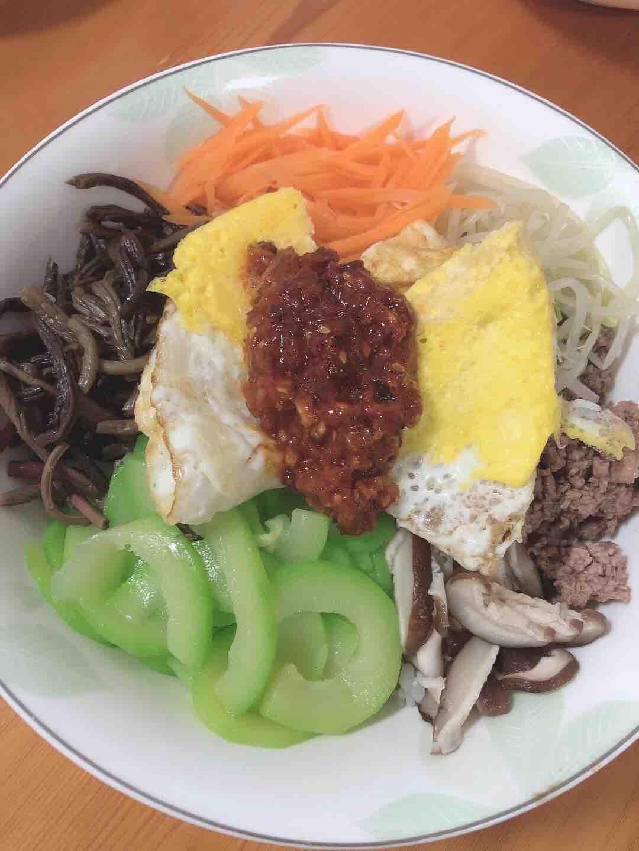 超燃韩式拌饭