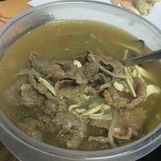 水煮牛肉(宿舍电煮锅版)的做法