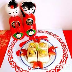五彩豆腐盏