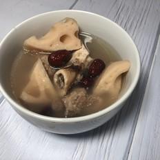 砂锅筒子骨莲藕汤
