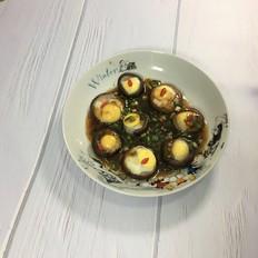 香菇蒸鹌鹑蛋