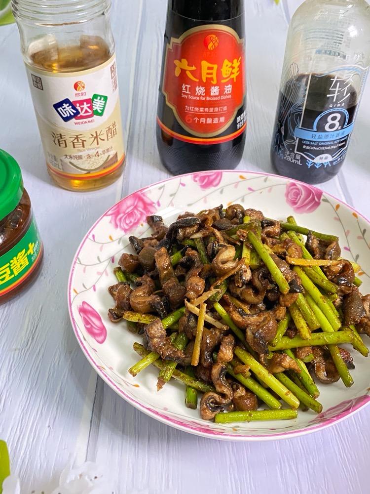 蒜苔炒鳝丝的做法