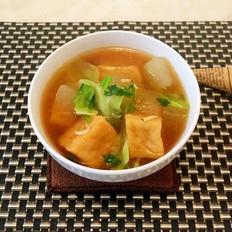 冬瓜虾米味噌汤