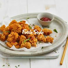 酥烤鸡米花