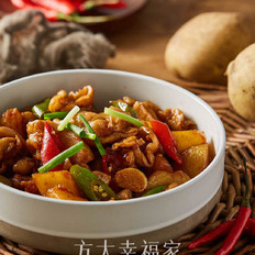 #骨灰级肥肠爱好者的推荐菜#土豆溜肥肠
