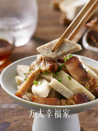 腊肉焖香芋的做法