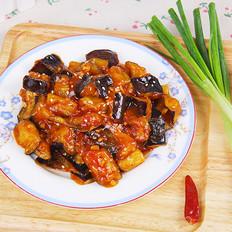 番茄沙司烩茄丁的做法