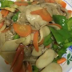 杏苞菇小炒肉