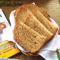 中种红糖全麦面包