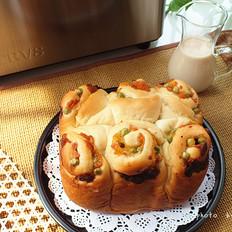 杂蔬火腿奶酪面包