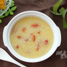 小米玉米渣粥