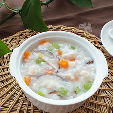 苏泊尔.香菇鸡肉粥