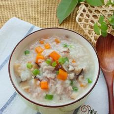 胡萝卜香菇瘦肉粥