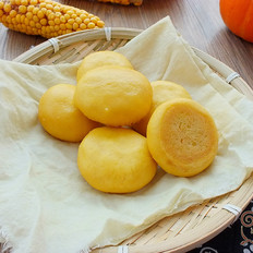 玉米面贴饼