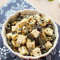黑菜拌豆腐