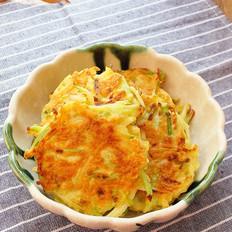 香煎虾皮萝卜蛋饼
