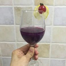 紫薯银耳饮