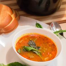 一家团圆,美式罗宋汤
