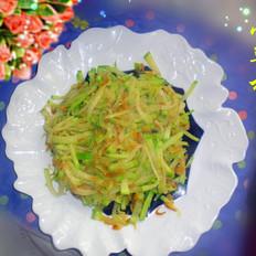萝卜炒虾米