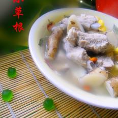铁杆山药排骨玉米汤