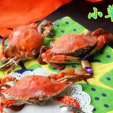 黄酒蒸螃蟹