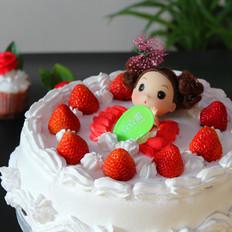 草莓仙子蛋糕