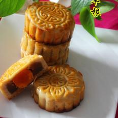 板栗蛋黄月饼