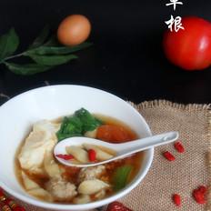 西红柿肉丸剪鱼子