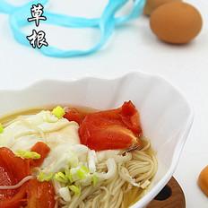 西红柿鸡蛋面