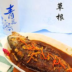 酱烧大黄鱼