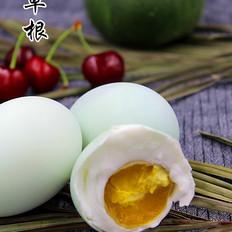 白酒腌制鸭蛋