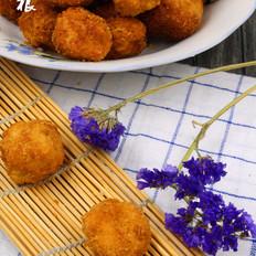 馒头虾泥豆腐丸