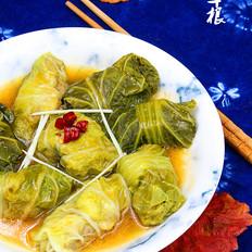 翡翠白菜卷