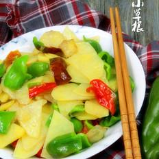 麻椒炒土豆片