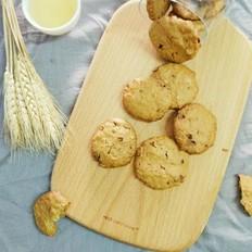 柚子皮红糖燕麦饼干
