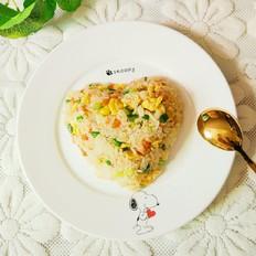 砂锅扬州炒饭