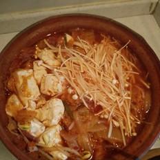 家常泡菜汤