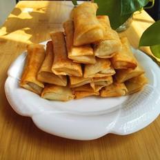 虾蓉鲜肉荠菜春卷