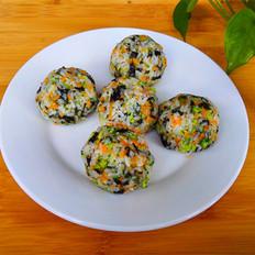 海苔蔬菜饭团