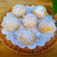 红薯椰丝球