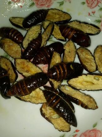 炸蚕蛹的做法