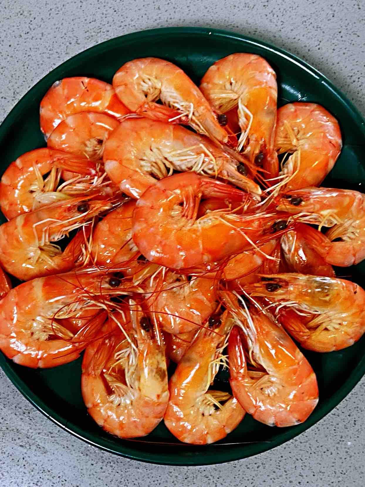 【孕婦食譜】白灼大蝦,蝦肉甜嫩Q彈,低脂補鈣高蛋白,孕期必備~