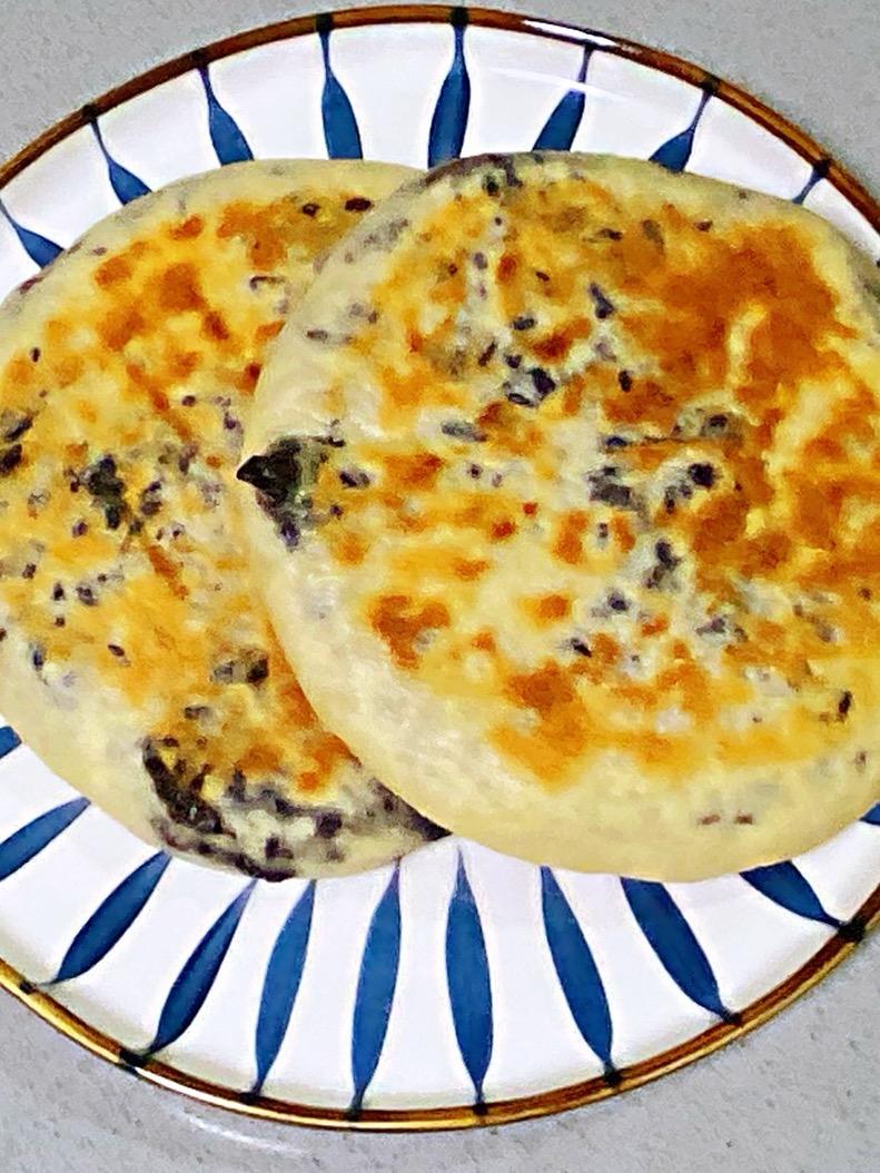 【孕妇食谱】紫米糯米饼,香甜可口,又糯又劲道~的做法