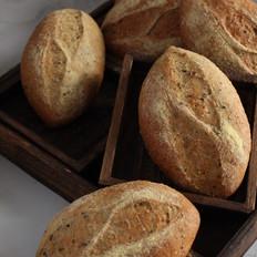 杂粮全麦包的做法
